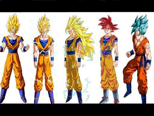 Fases de Goku  DRAGON BALL ESPAOL Amino
