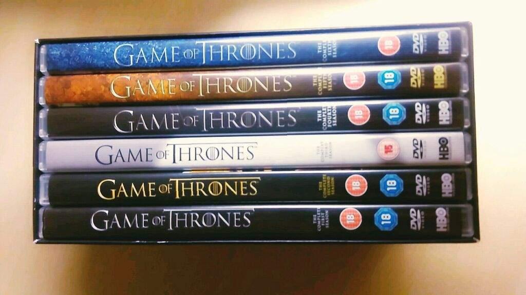 Game of thrones seasons 1-6 dvd box set