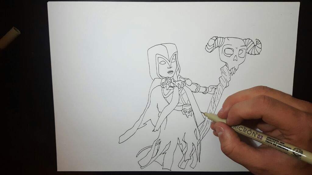 Dibujo de La BRUJA   Clash Royale Amino  Amino