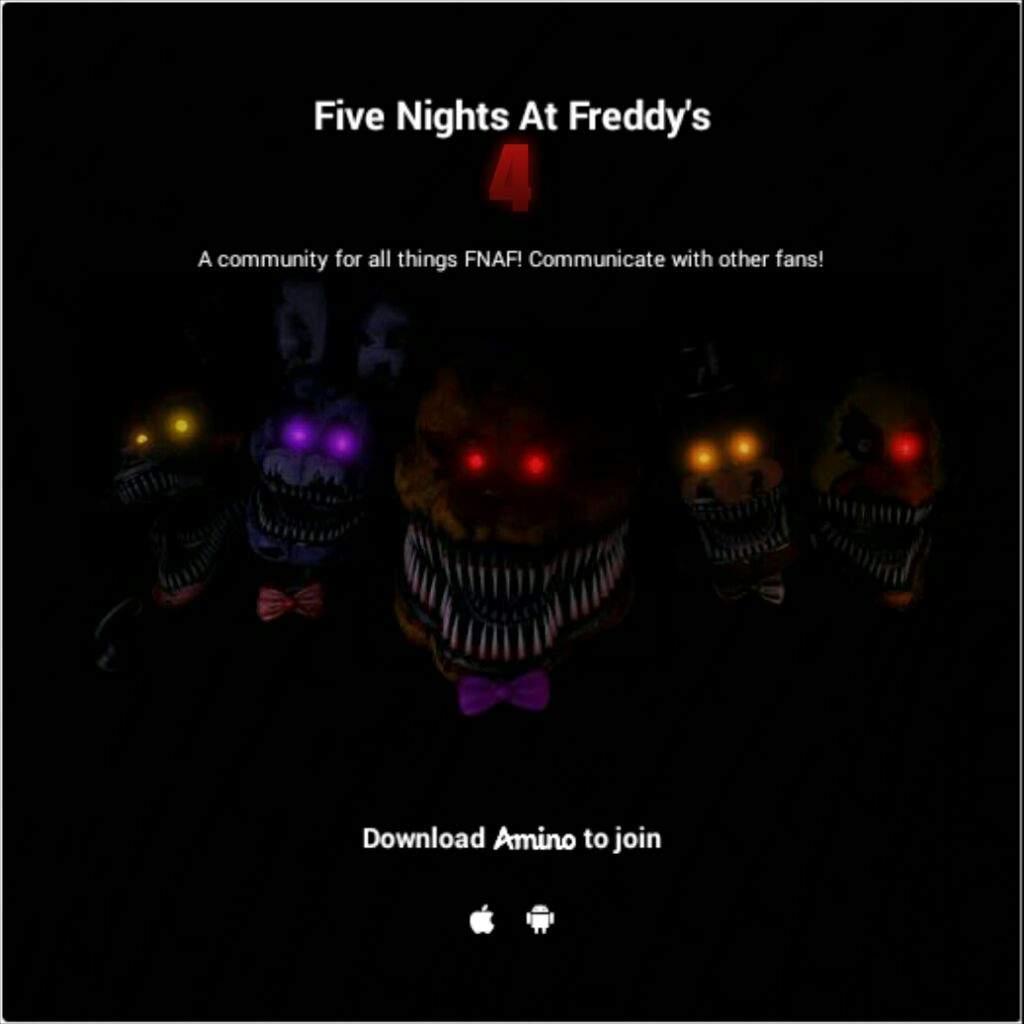 FNAF4 amino (Fan-made) | Five Nights At Freddy's Amino