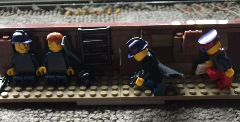 My lego french ww1 soliders and trench | LEGO Amino