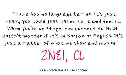 Language Is Not A Barrier K Pop Amino