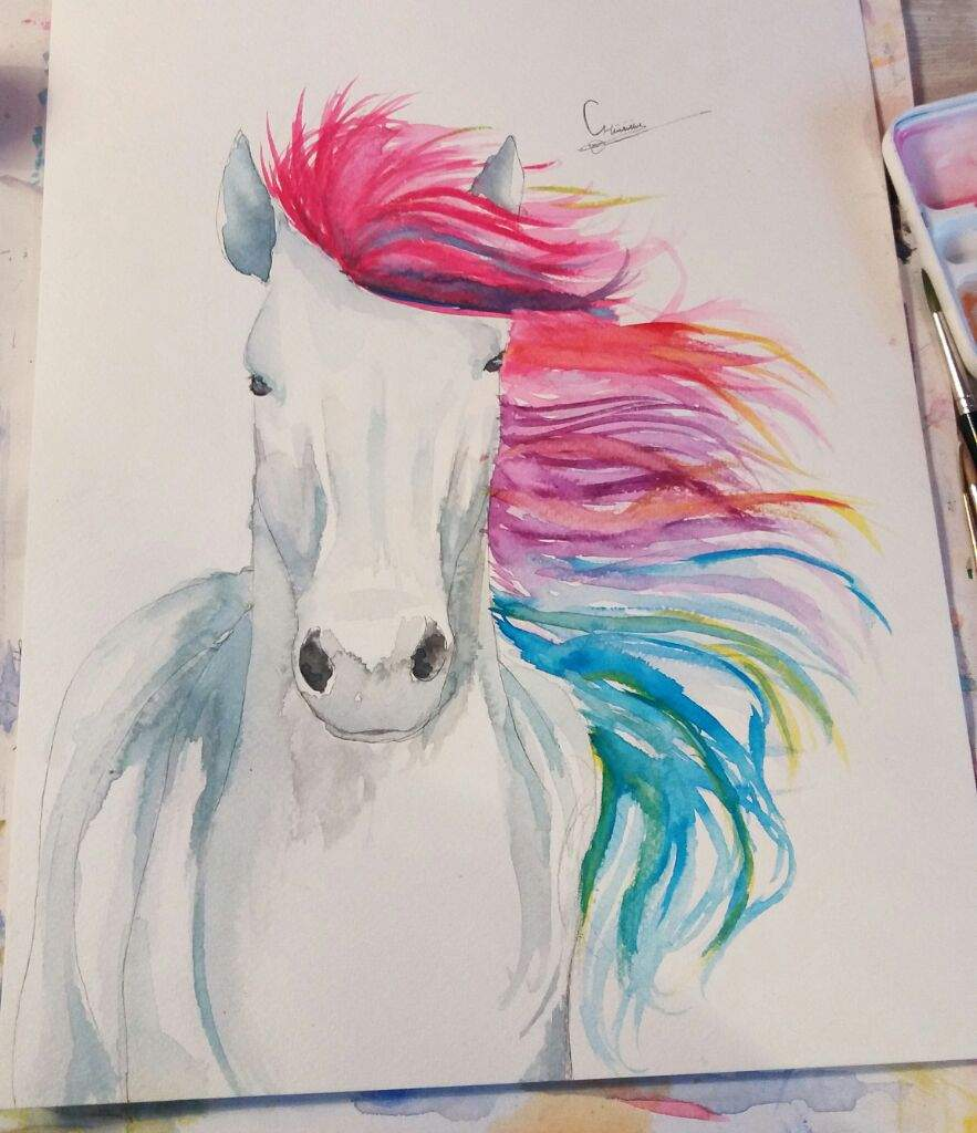 Magical Horse Art Amino