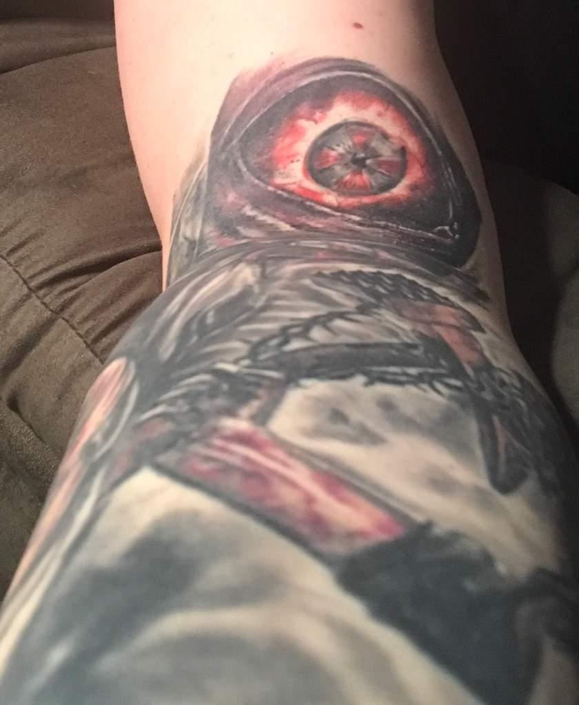Resident evil zombie eye | Tattoo Amino
