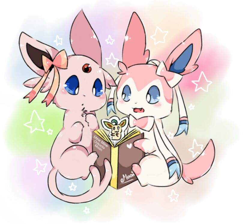 Valentine Showing Espeon The Book She Reading Pok 233 Mon Amino