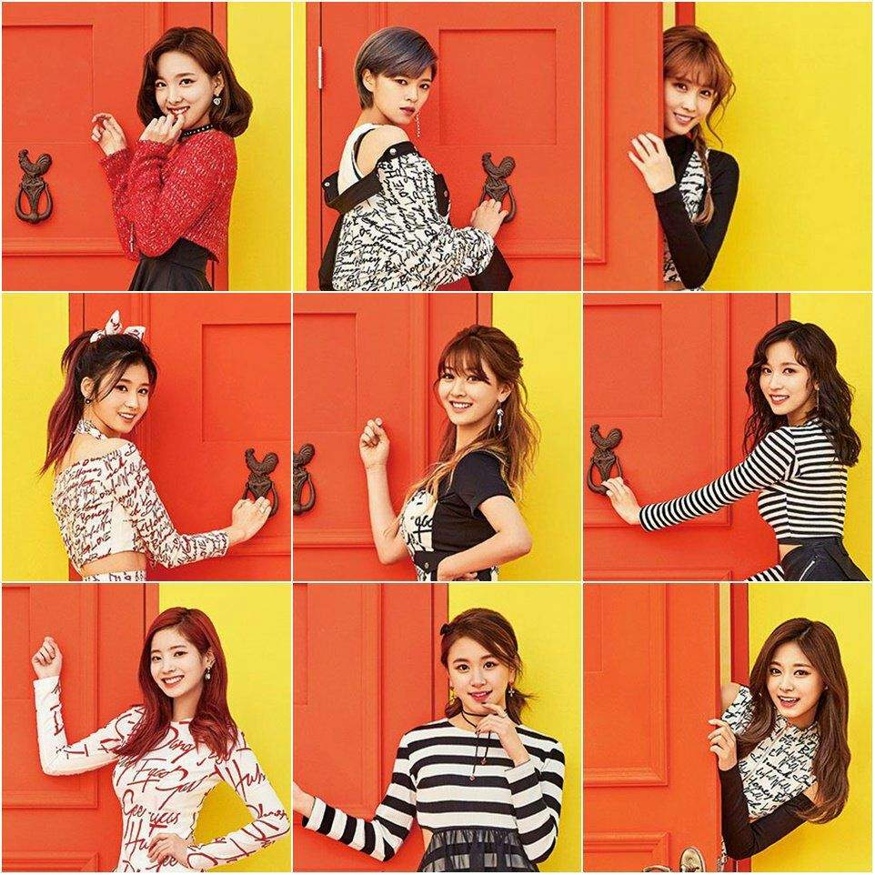 Image result for Twice – Knock Knock