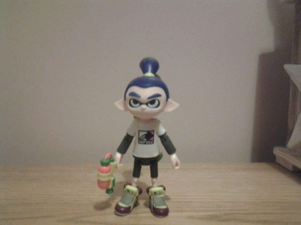World Of Nintendo Inkling Boy Action Figure