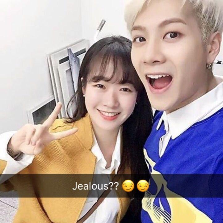 Jackson wang snapchat
