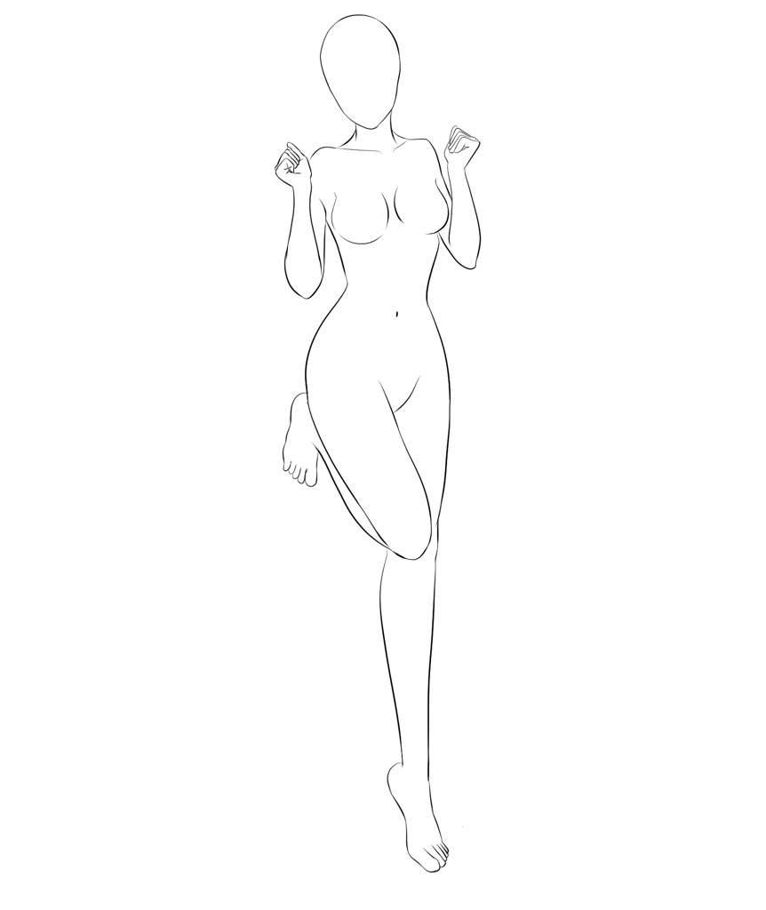 Female Body Pose  Anime Amino