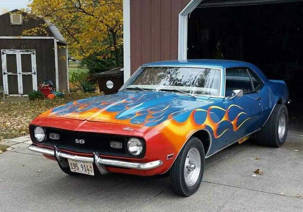 Flame Paint Job Garage Amino