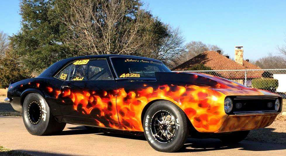Flame Paint Job Garage Amino