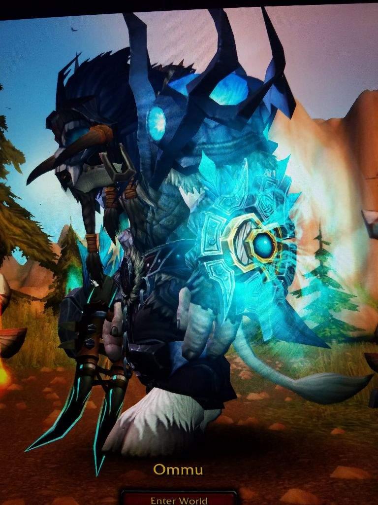 shaman hidden artifact appearance like a boss wow amino