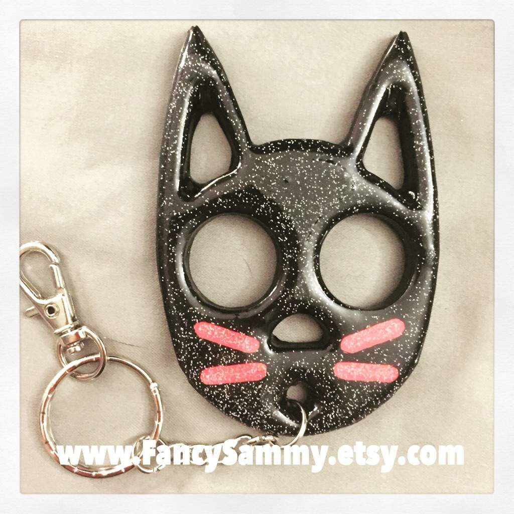 New Self Defense Cat Keychains Crafty Amino