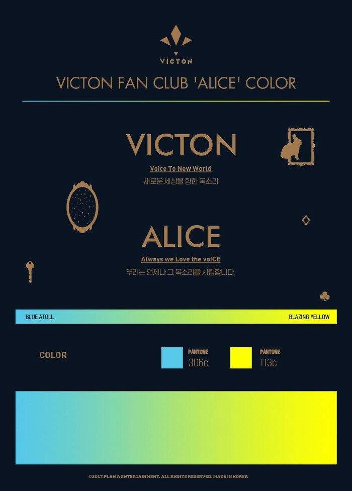 victon official color ile ilgili görsel sonucu