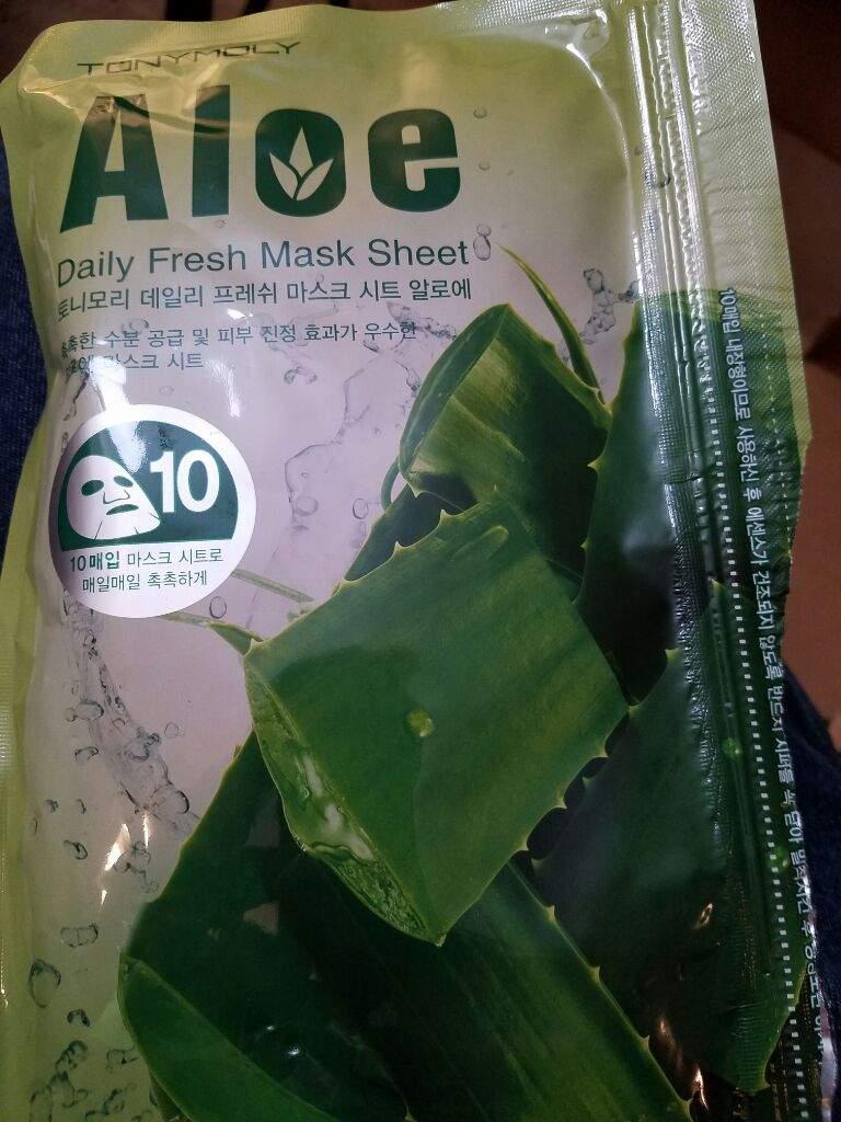 Daily Fresh Aloe Sheet Mask by TONYMOLY #11