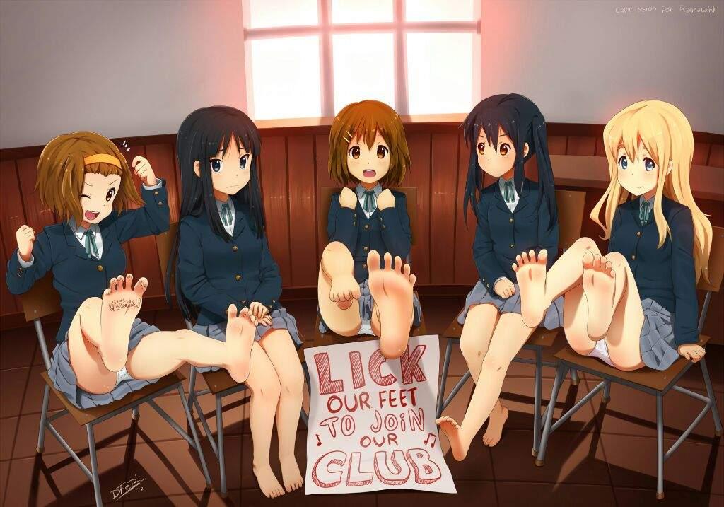 Feet | Anime Amino