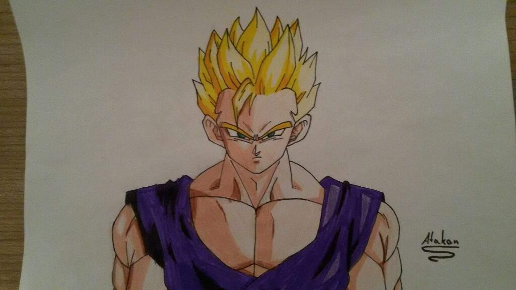 how to draw goku ssj god step by step easy