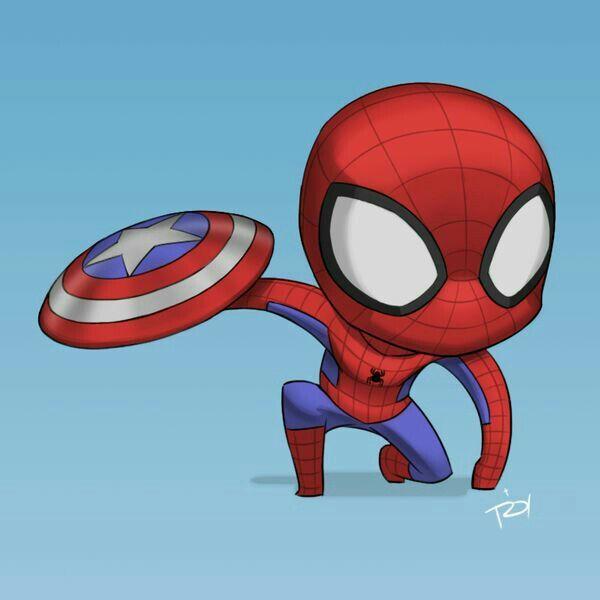 Desenho Do Homem Aranha Chibi Comics Portugues Amino