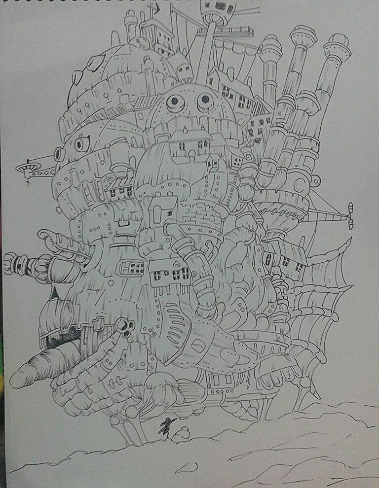Castillo Ambulante  DibujArte Amino