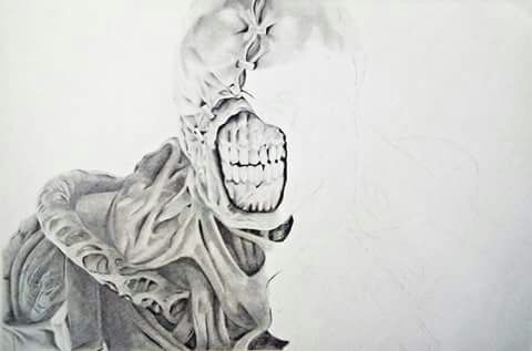 sketches resident evil nemesis drawing