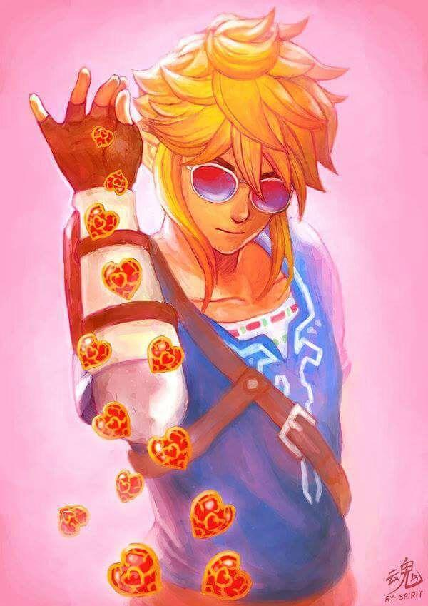 Botw Link And Zelda Drawing Zelda Amino