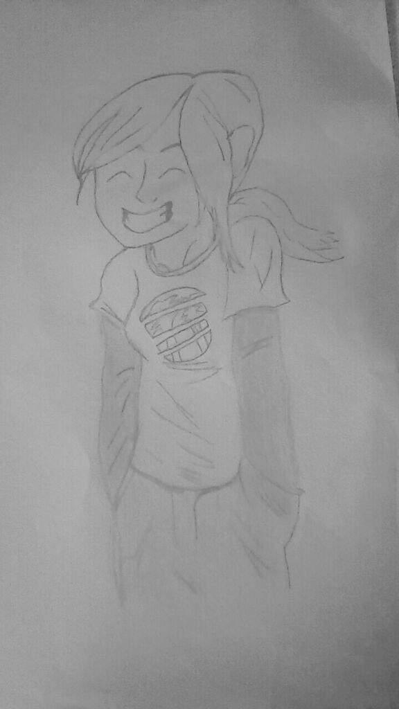 Meu Desenho Da Ellie The Last Of Us Amino