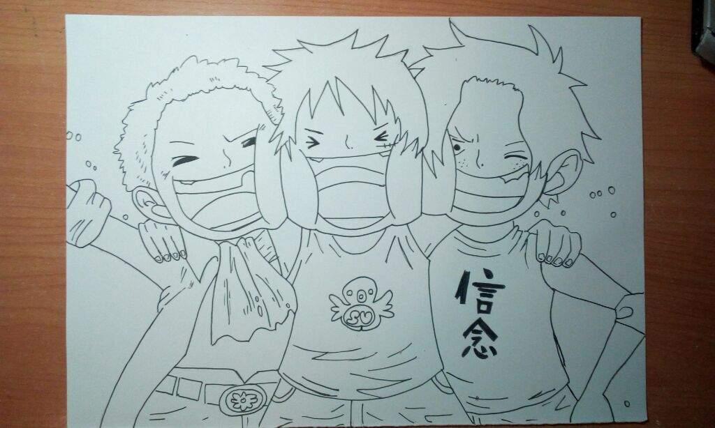 Dibujo de ASL | •One Piece• Amino