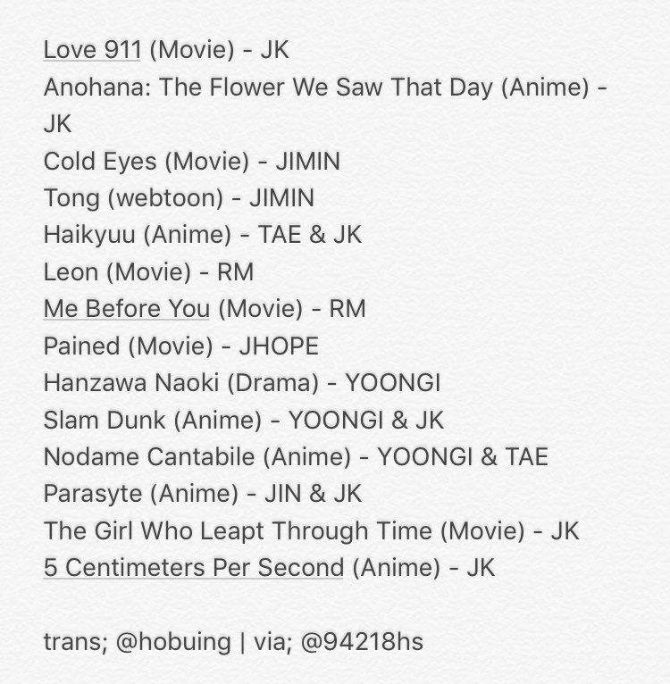 I Googled All Of Those Titles And Made Some Collages The Posters Just To Show You Which Movies Drama Webtoons Are On That List