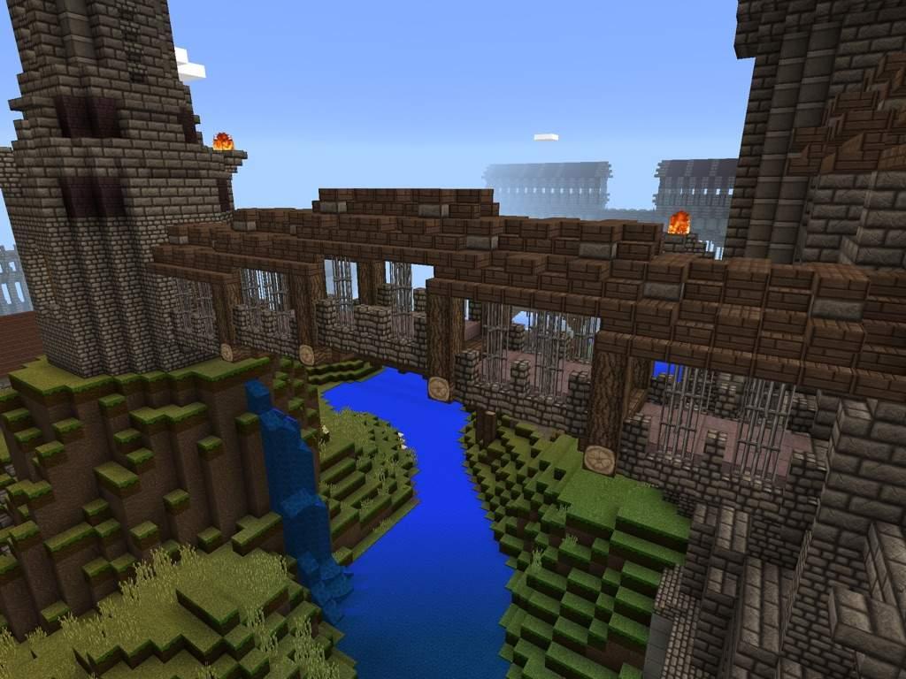 Bridges of my world minecraft amino - Minecraft inneneinrichtung ...