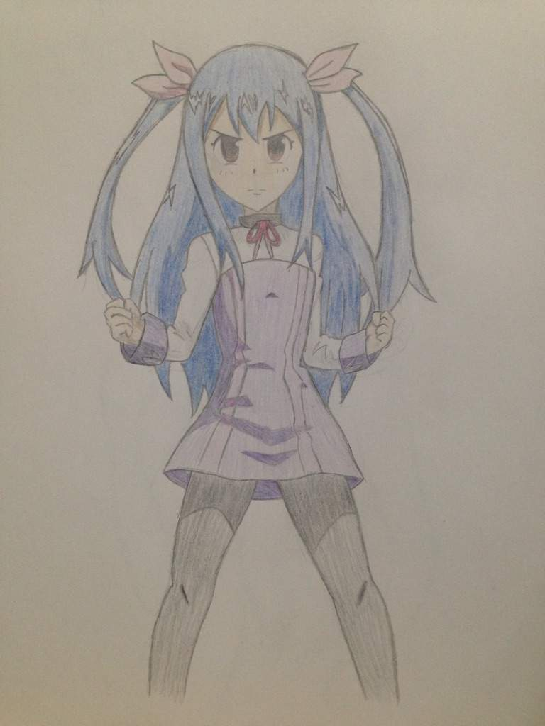 Fairy Tail Wendy Drawing