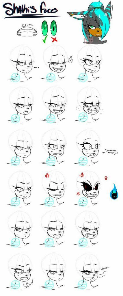 Face Expressions Sonic The Hedgehog Amino