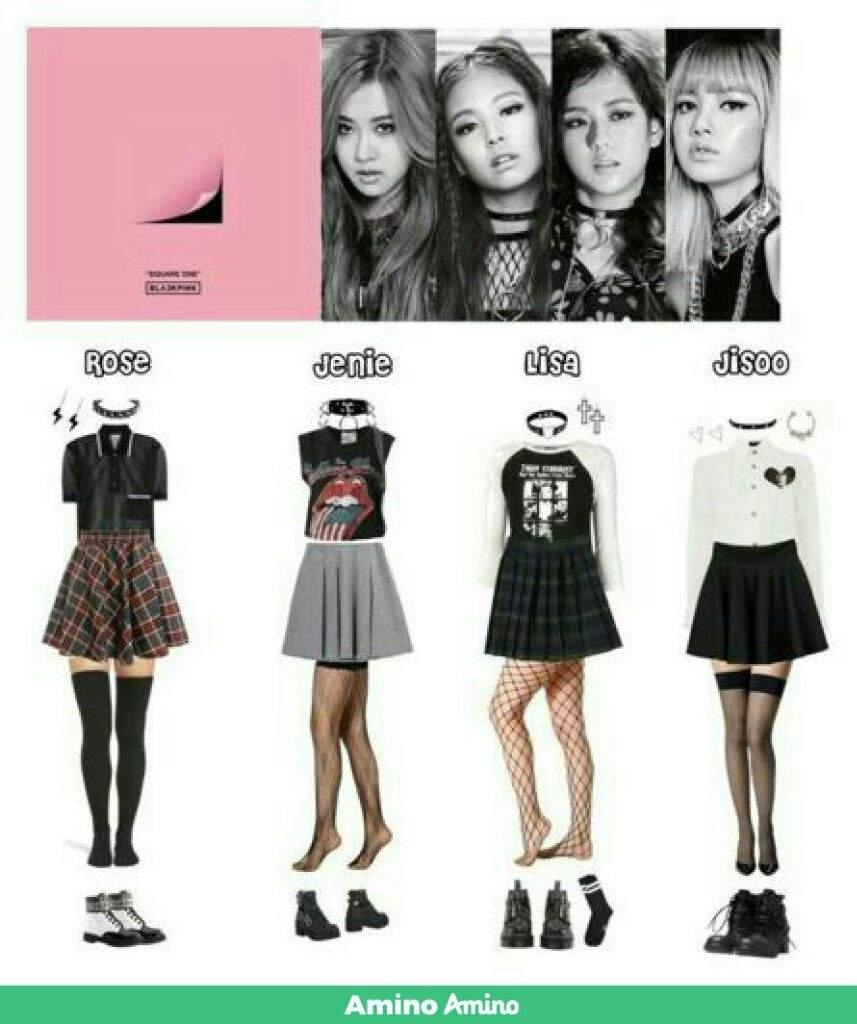 Blackpink Outfit Ideas: •K-Pop• Amino