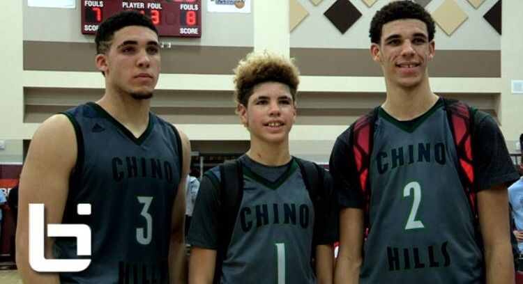 Lonzo Ball Weight Lbs >> The Ball Brothers | Wiki | Hoops Amino