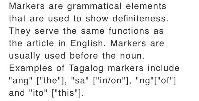 Parts Of Speech In Tagalog Language Exchange Amino