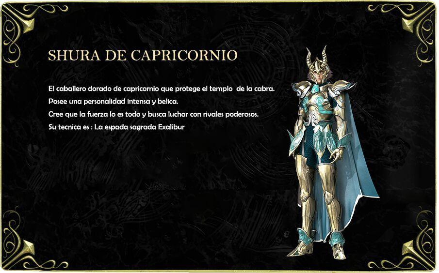Frases De Shura Santo De Oro Caballero De Capricornio