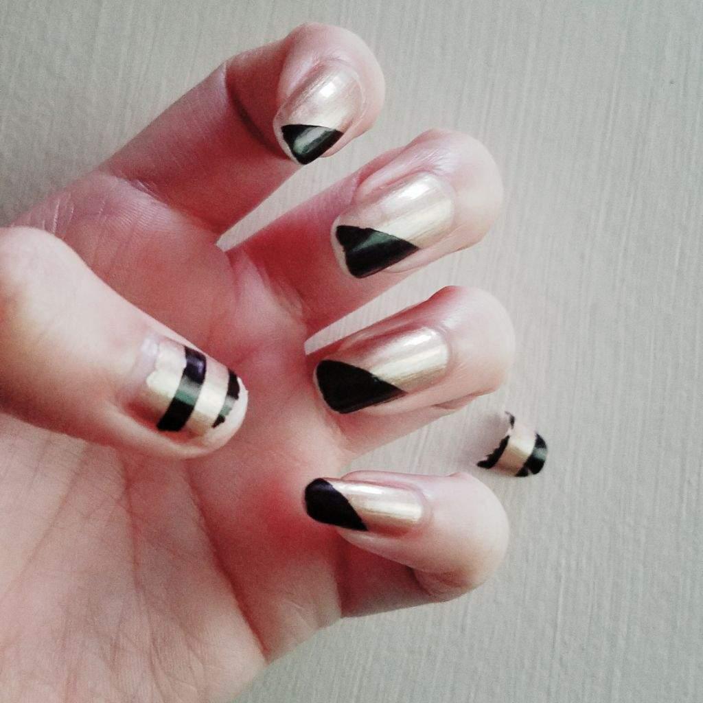 Broken Nails Short Nails Journey Nail Art Amino