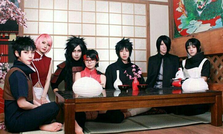 Uchiha Family Madara Izuna Shusui Itachi Sasuke Sakura Sarada