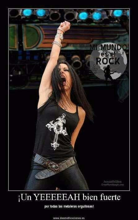 Mujeres Rockeras Metal Amino Feliz día de la mujer. mujeres rockeras metal amino