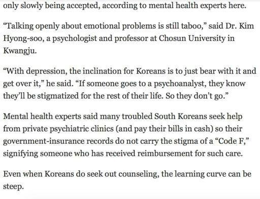 The Last Depression In Korea Genius Yoongi Amino