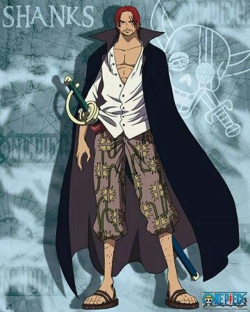 One Piece Shanks Wallpaper For Android Gadget And Pc Wallpaper