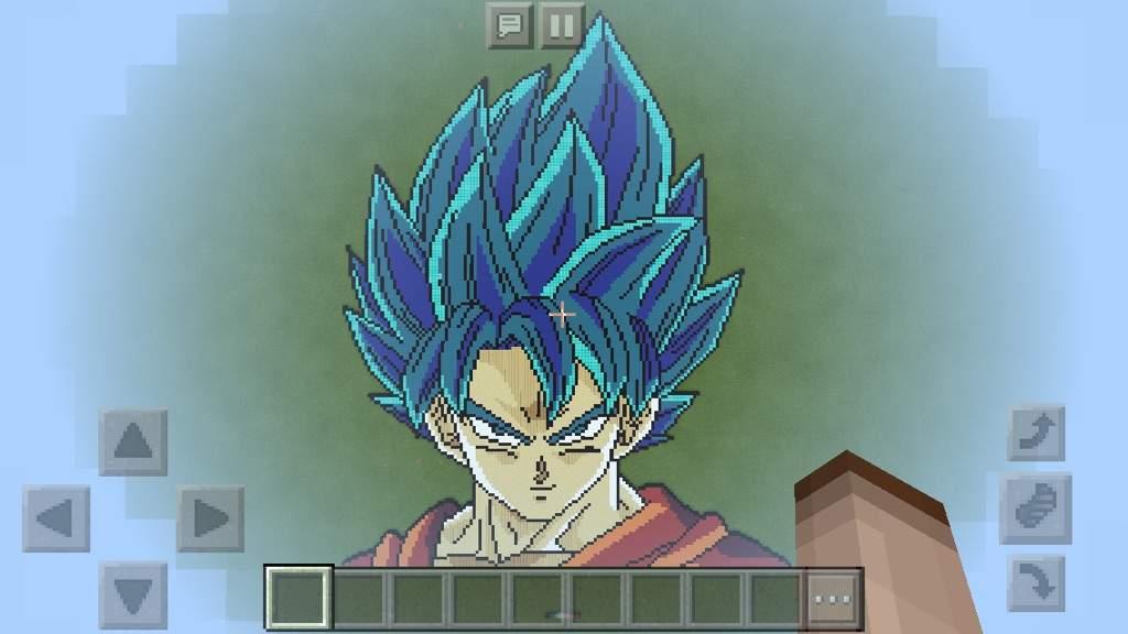 Super Saiyan God Super Saiyan Goku Pixel Art Pixel Art Amino