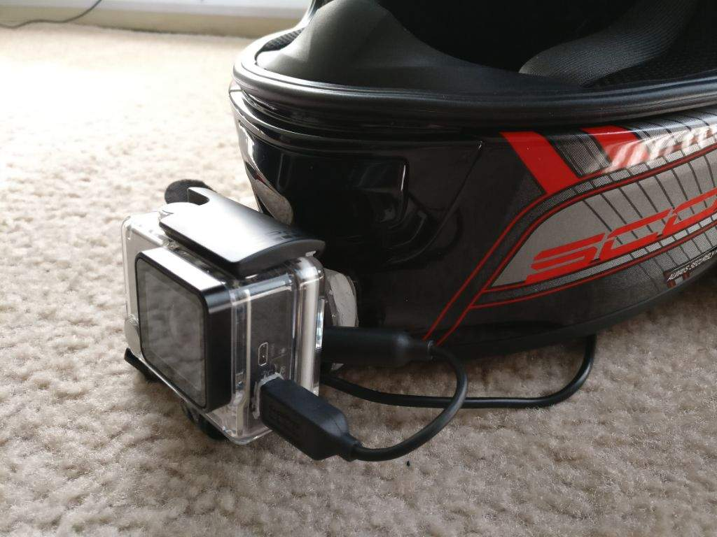 How To Chin Mount A Gopro Motorcycle Amino Amino