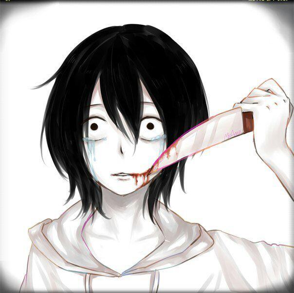 картинки джефф убийца аниме