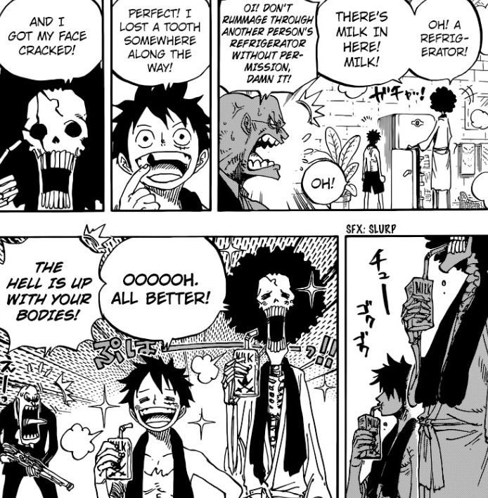 Scan Manga One Piece 928: ~ One Piece Manga Chapter 858 ~