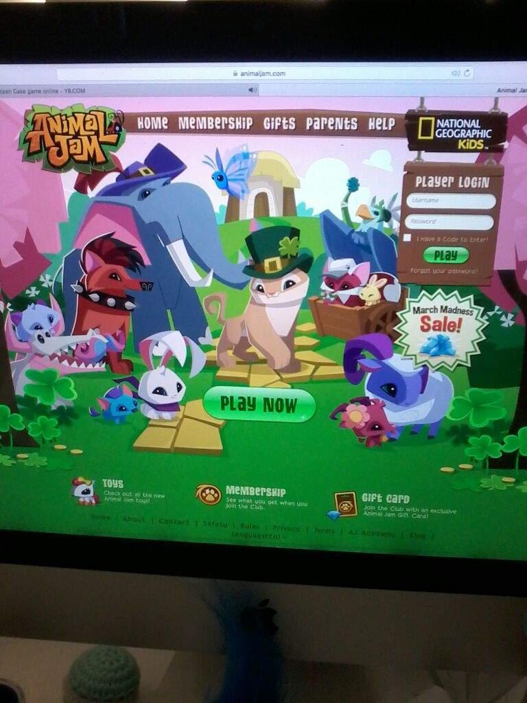 Animal Jam Online Login