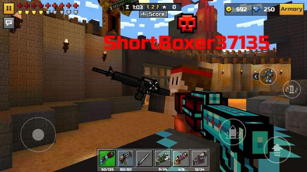 pixel gun 3d all guns
