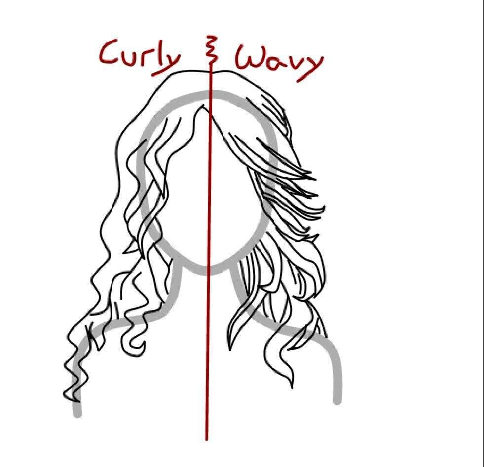 how to draw 2 curly wavy hair zelda amino