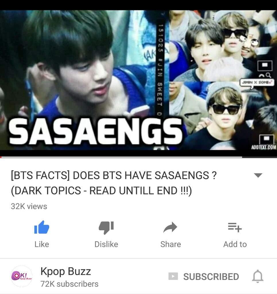 sasaeng bts on JumPic com