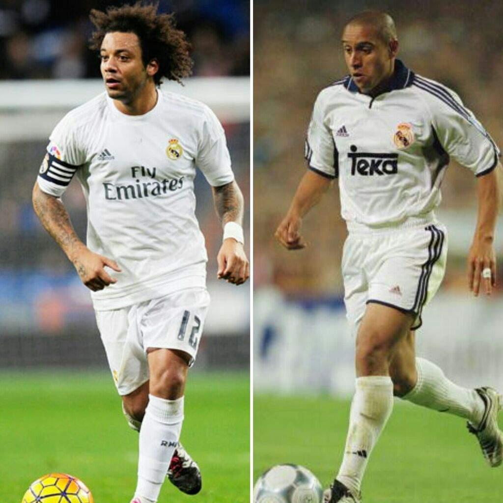 Roberto Carlos: 2017 Vs. 2007: Real Madrid [B/R]