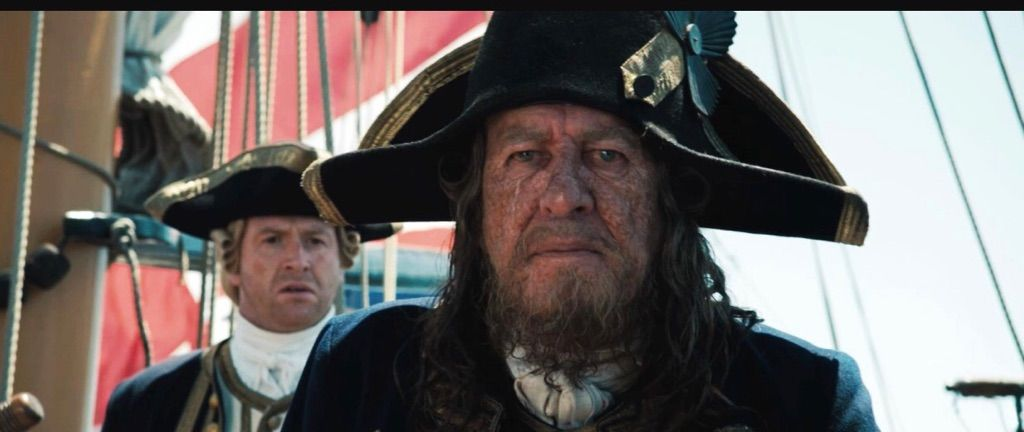 Couple films later he would lose his leg to Blackbeard and his ship 1f906acb9267